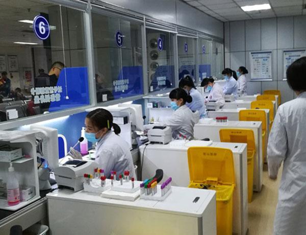 四川省人民医院智能采血系统